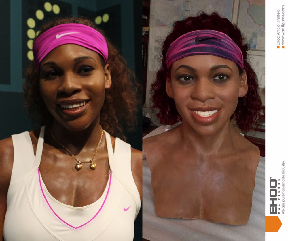 high imitation life size action figure Serena Williams