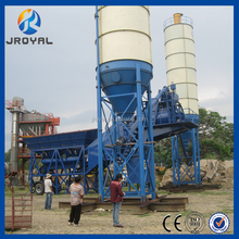 Professional Supplier 60m3/h Hard Concrete Mobile Concrete Batching Plant on Sale