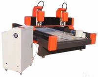 china cnc lathe machine ys from china for the small business ce approved stone engraving machinery with two spindles