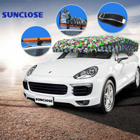 Funny car sunshade Front Windshield Shades Type