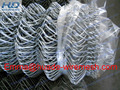Valuable galvanized chain link mesh