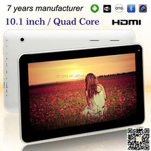 cheapest 10.1 inch ATM 7029B tablets 1024*600 HDMI keyboard case quad core android advertising display