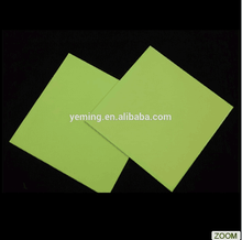 Glow in the dark PVC sheet/glow rigid board/photoluminescent PVC sheet