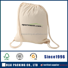 Shoe bag with locking drawstring toggle / cotton drawstring shoe bag/dust bag for shoes,sewing with parting lines