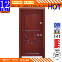 High Quality Luxury Turkey Door Explosion-proof Waterproof Security Door Stainless Steel Security Main Door Design
