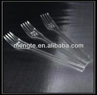 plastic cocktail cooking fork and spoon