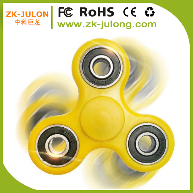 Newest Coloful anti stress plastic cheap price fidget Spinner toys/ Fidget Spinner / Hand Fidget Spin Toy