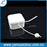 Yunsheng pull string musical movement with waggle for plush toy
