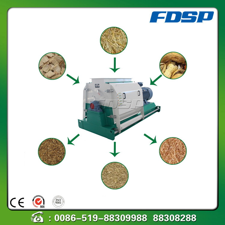 China top quality wood chips grinding machine wood crusher machine