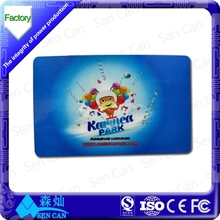 fashionable custom size plastic hole punched printing die cut card/irregular card/pvc ID card (factory suppier)