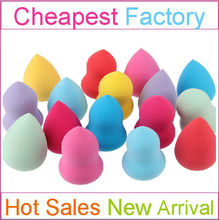 Custom Latex Free Makeup Sponge with Different Colors and Shapes for Choices Blending Sponges