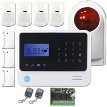 Factory direct sale New RFID home automation alarm system for gsm intelligent alarm system support speak German,Spanish ,Russian