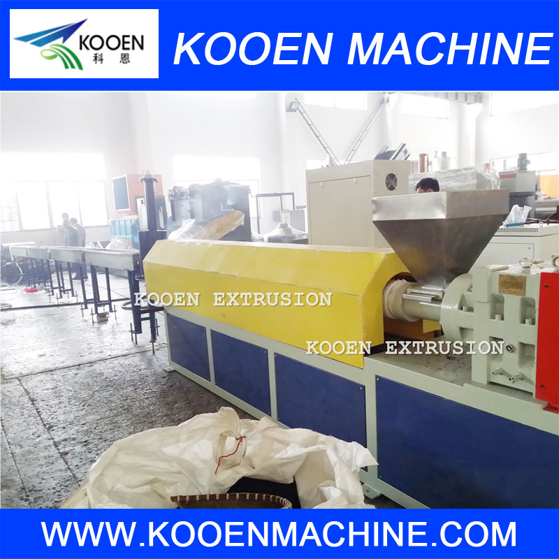 PE wax making machine plastic extruder