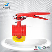 China Suppliers Grooved Signal Butterfly Valve