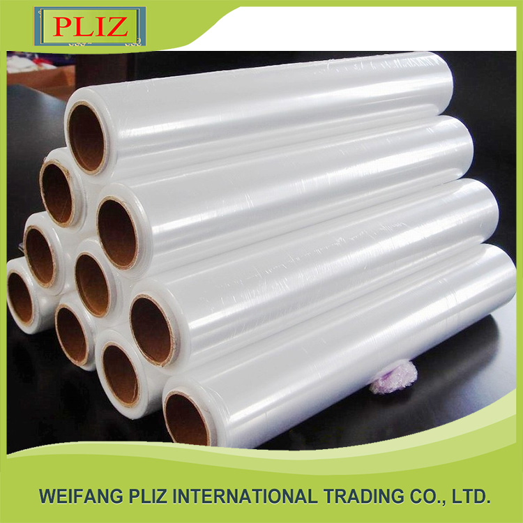 2016 china wholesale best fresh plastic wrap pvc cling film for food grade