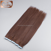 Alibaba Supplier Wholesale Cambodian Hair Weave Keratin Tape Hair Extension