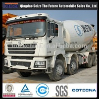 Shacman F3000 mixer truck volume of a concrete truck
