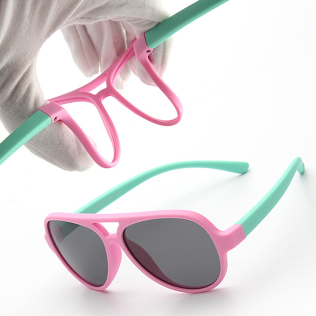 2018 New Top Quality Flexible Polarized Kids UV400 Sunglasses