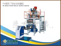 Single layer PP blown film machine good transparece