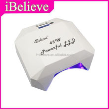 Powerful 45W led light for curing gel uv dryer with high quality uv ir test lamp