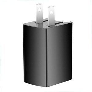 5V 2.1A Dual USB Wall Home Charger Folding US Plug With LED Light