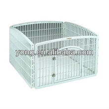 Metal pet foldable fence cage