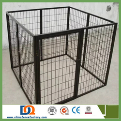 A modular dog cage,pet cage, vet cage of veterinary equipment u/Stainless Steel Dog Cage/Dog House DC-003