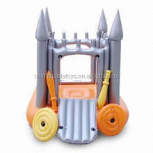Factory sell children toys inflatable castle pvc slide indoor playground