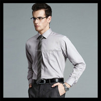 new inventions in china exquisite plain grey color pointed pocket men sleeveless shirts with tie