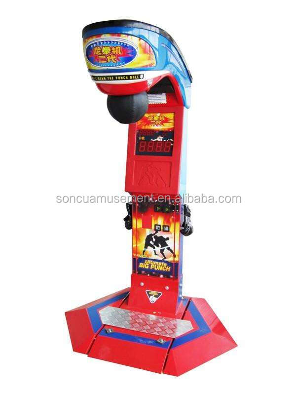 New Ultimate Punch Boxing redemption Machine SCH-19 for sale