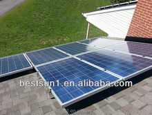 Complete with battery and brackets 2000w solar power home system