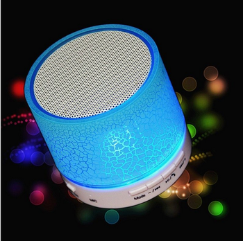 Factory Price LED Bluetooth Speaker Portable Wireless Speaker Musical Audio Hand-free Waterproof Speaker With Fm Radio