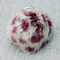 CX-R-49B Wholesale In Stock Trinket Rabbit Fur Key Chain Keychain