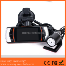 K-A1 hd car dvr carcam , dual lens GPS HD dah cam car DVR