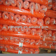 security warning plastic safety mesh