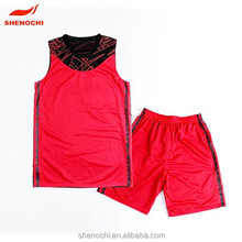 Top fashion style jersey basketball design uniform for women