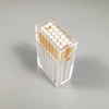 ECO-Friendly acrylic cigarette case transparent / plexiglass cigarette display box