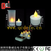 led tealight candle light rechargeable