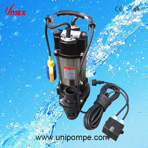 Best quality pompe submersible with cutter