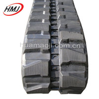Rubber tracks for excavato spare parts, rubber belt for undercarriage