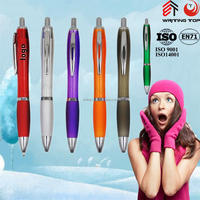 2015 metal clip promotional pen with logo