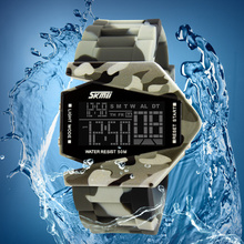 Hot sale military digital watches camouflage color outdoor watch