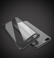 Free sample for OnePlus 5 case transparent PC TPU cell phone cover case for One plus 5