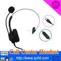 Call Center Hands-free Telephone Headset with voice logger