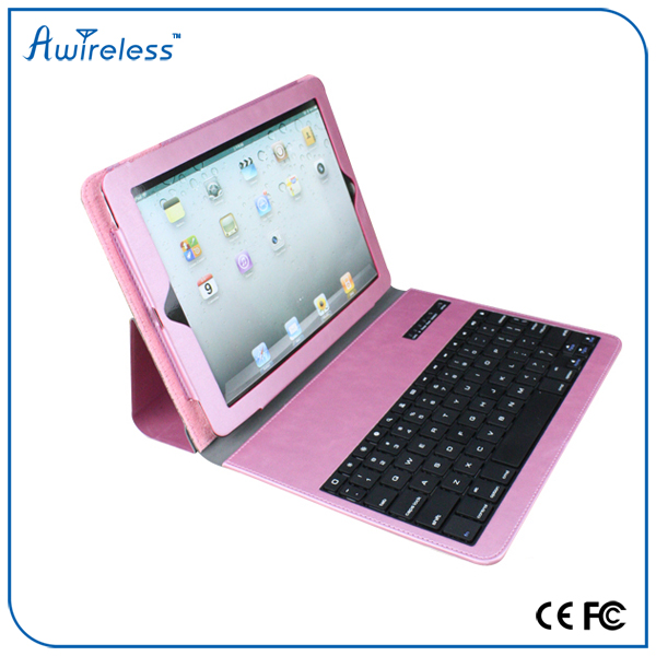 9.7 tablet pc leather case bluetooth keyboard For Android /Windows Tablet PC