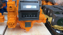 LPG gas flow meter & printer