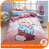 Popular embroidery bed cover designs for home textile