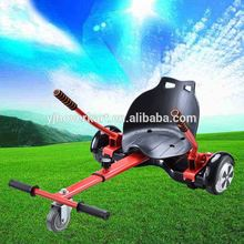 wholesale top quality 2 wheel self balance scooter bracket hoverboard cart, hoverkart