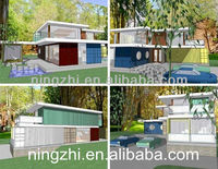 2014 fresh design shipping container house for family living
