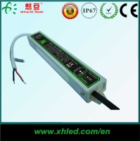 CE Certificated metal Waterproof 12V 0.83A 10W LED dc driver